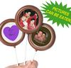 CONF-655 Wedding Chocolate Lollipops