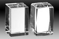 HMC-75 Crystal Block Faceted Paperweight