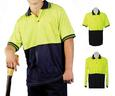 PCLTH-265 Justin Hi Vis Long Sleeve Polo (Printed)