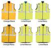 ECLTH-760 Brad Hi Vis Reversible Vest (Embroidered)