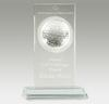 GT-24-G Golf Glass Award (Rectangular)
