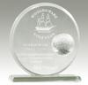 GT-25-G Golf Glass Award (Round)