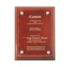 PA-22-ME-DE Rosewood Plaque with Acrylic (Direct Engrave - Medium)