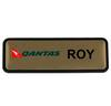 MCNB-05 Multi Coloured Gold Name Badge