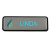 MCNB-10 Multi Coloured Silver Name Badge