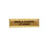 MNB-55 Rectangular Metal Name Badge