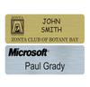PNB-20 Large Plastic Rectangle Name Badge