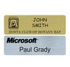 PNB-30 Standard Plastic Rectangle Name Badge