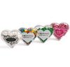 CONF-270 Acrylic Heart filled with Mints 50g