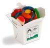 CONF-325 White Cardboard Noodle Box filled with Mixed Lollies 180g