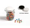 CONF-420-BK Mini M&Ms in Medium Clip Lock Jar 160g