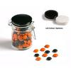 CONF-425-BK Choc Beans in Medium Clip Lock Jar 160g